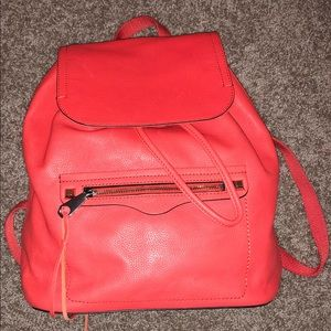 NWT Electric Red Rebecca Minkoff Backpack